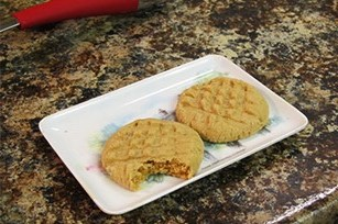 Peanut Butter and Bacon Cookies Image 1