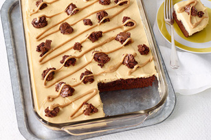 Peanut Butter-Brownie Dessert