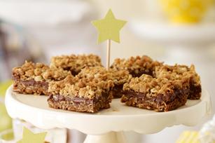 Barres croquantes au beurre d'arachide et au chocolat