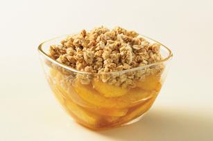Peanut Butter Granola-Topped Fruit Crisp Image 1