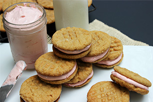 Peanut Butter & Jelly Sandwich Cookies Image 1