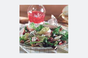 Pear & Raspberry Vinaigrette Salad