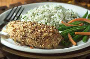Pecan-Crusted Honey Chicken