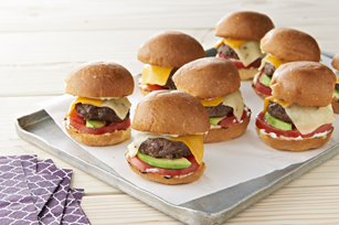 Pepper Jack-Beef Sliders Image 1