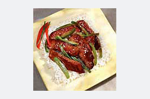 Pepper Steak and Rice Image 1