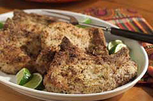 Peppered Citrus Pork Chops