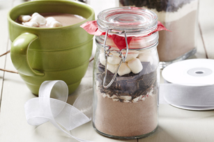 Peppermint-Hot Cocoa in a Jar