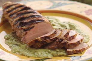 Perfectly Grilled Pork Tenderloin