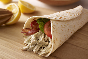 Pesto-Chicken Club Wrap Image 1