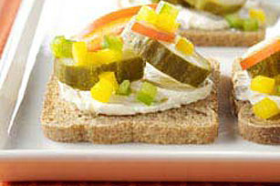 Pickle Rye Toppers