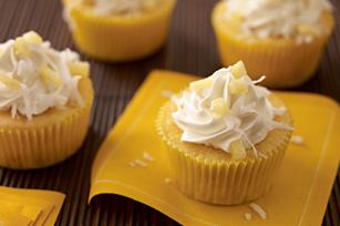 Cupcakes sabor a piña colada Image 1