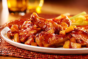 pineapple-chicken-wings-66298 Image 1