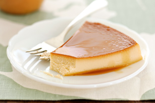 Flan with Pineapple-Cream Cheese