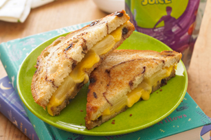 Pineapple-Grilled Cheese Sandwich