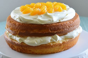 Pineapple Orange Spring Layer Cake Image 1