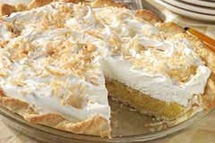 Pineapple Ambrosia Pie Image 1