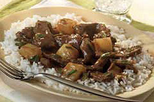 Pineapple Beef Stir-Fry Image 1