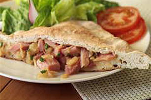 Pineapple Ham Pocket Image 1
