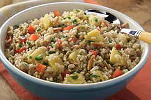 Pineapple Rice Salad Image 1
