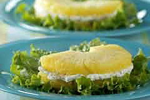 "Pineapple and Cheese ""Sandwiches"" Image 1"