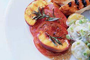 Pop-Pop's Grilled Peach Salad Image 1