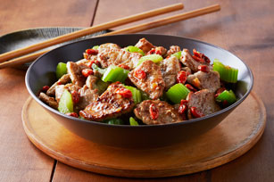 Pork Tenderloin & Goji Berry Stir-Fry