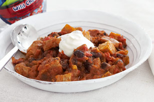 Pork & Black Bean Chili Recipe