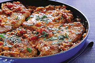 Pork Chops Mexicana Image 1