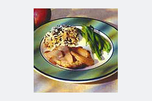 Pork Chops in Pear-Dijon Sauce