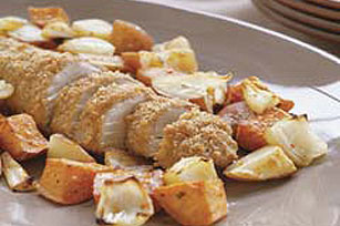 Baked Pork Tenderloin with Vegetables Image 1