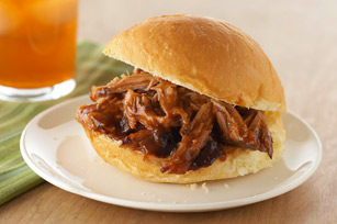 Pulled Pork in a Bun Image 1