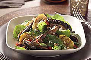 Portobello Mushroom and Feta Salad