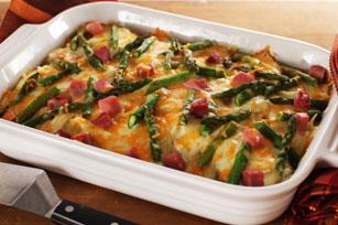 Potato, Ham & Asparagus Bake Image 1