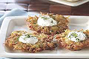 Potato-Parsnip Latkes Recipe