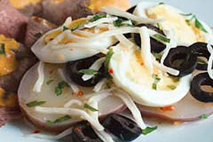 Potato, Egg & Olive Salad Image 1