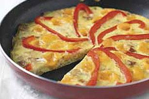 Potato & Pepper Frittata