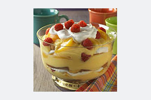 Pound Cake Peach Pudding Image 1