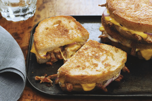 Pulled Pork and Red Onion Melts Image 1