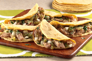 Pulled-Pork Soft Tacos Image 1