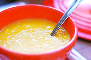 Pumpkin Apple Cider Soup