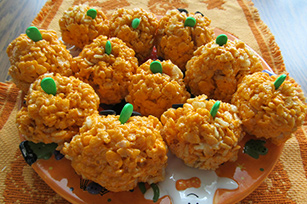 Pumpkin Crispies