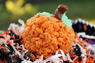 Pumpkin Latte Crispy Rice Treats Image 1