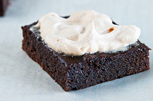 Pumpkin Magic Brownie Bars with Pumpkin Magic Frosting
