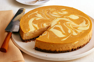 Pumpkin Swirl Cheesecake Recipe - Kraft Canada
