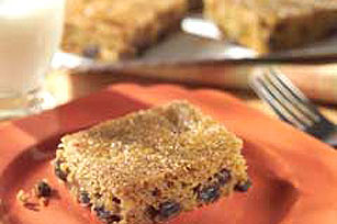 Pumpkin-Raisin Bars Image 1