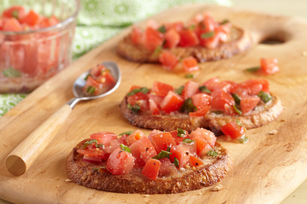 Quick Bruschetta for Two