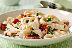PHILADELPHIA Quick Pasta Carbonara