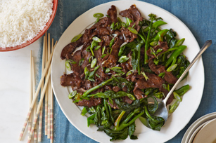 Quick Stir-Fried Beef & Chinese Broccoli