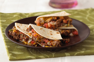 Quick Taco Quesadillas