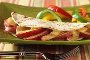 Quick Apple Quesadilla - Kraft Recipes